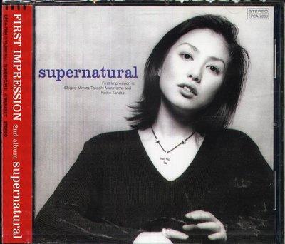K - First Impression - supernatural - 日版 - NEW