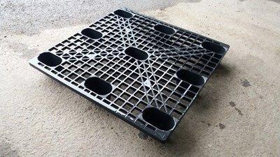 二手棧板/中古棧板/便宜棧板 九宮型中古塑膠棧板(挑選過) 大小尺寸齊全120*100 平價實惠