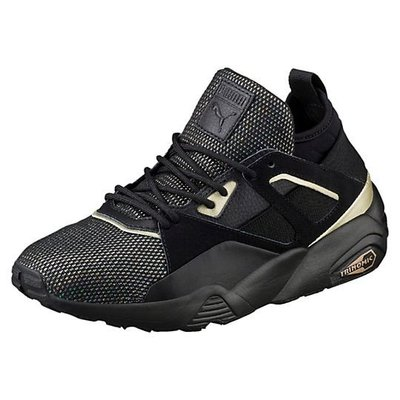 PUMA B.O.G Sock Reset Metallic 363629-01黑金香檳金玫瑰金七彩水晶蕾哈娜休閒慢跑鞋