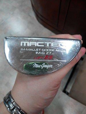 (狗夫小舖)MACGREGOR GOLF MACTEC IM-G Z7推桿(大握把)