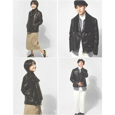 18F/W【艾利洋行】(LAFUDGESTORE) Buffing Leather Rider Jacket 夾克/皮衣