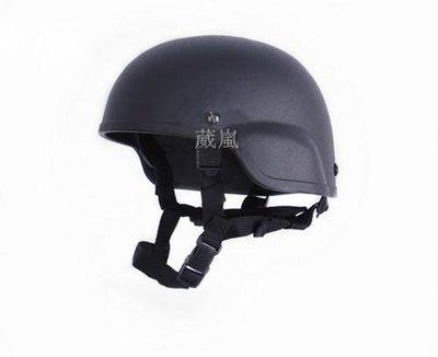 [01] MICH 2000 頭盔 長城版 黑(生存遊戲cosplay警察軍人士兵鋼盔防彈安全帽護具WARGAME偽裝帽