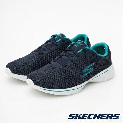 【昇活運動用品館】Skechers GO WALK 4 休閒鞋 寬楦 14175W NVTL 直購價2310元