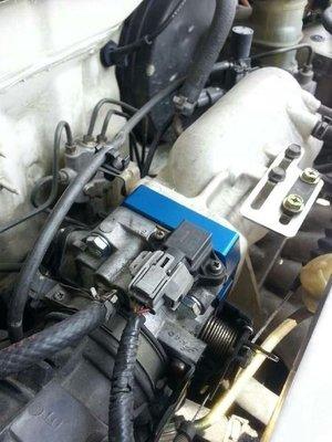 ☆光速改裝精品☆HONDA FIT 節氣門墊寬器 節氣門墊片 墊寬片