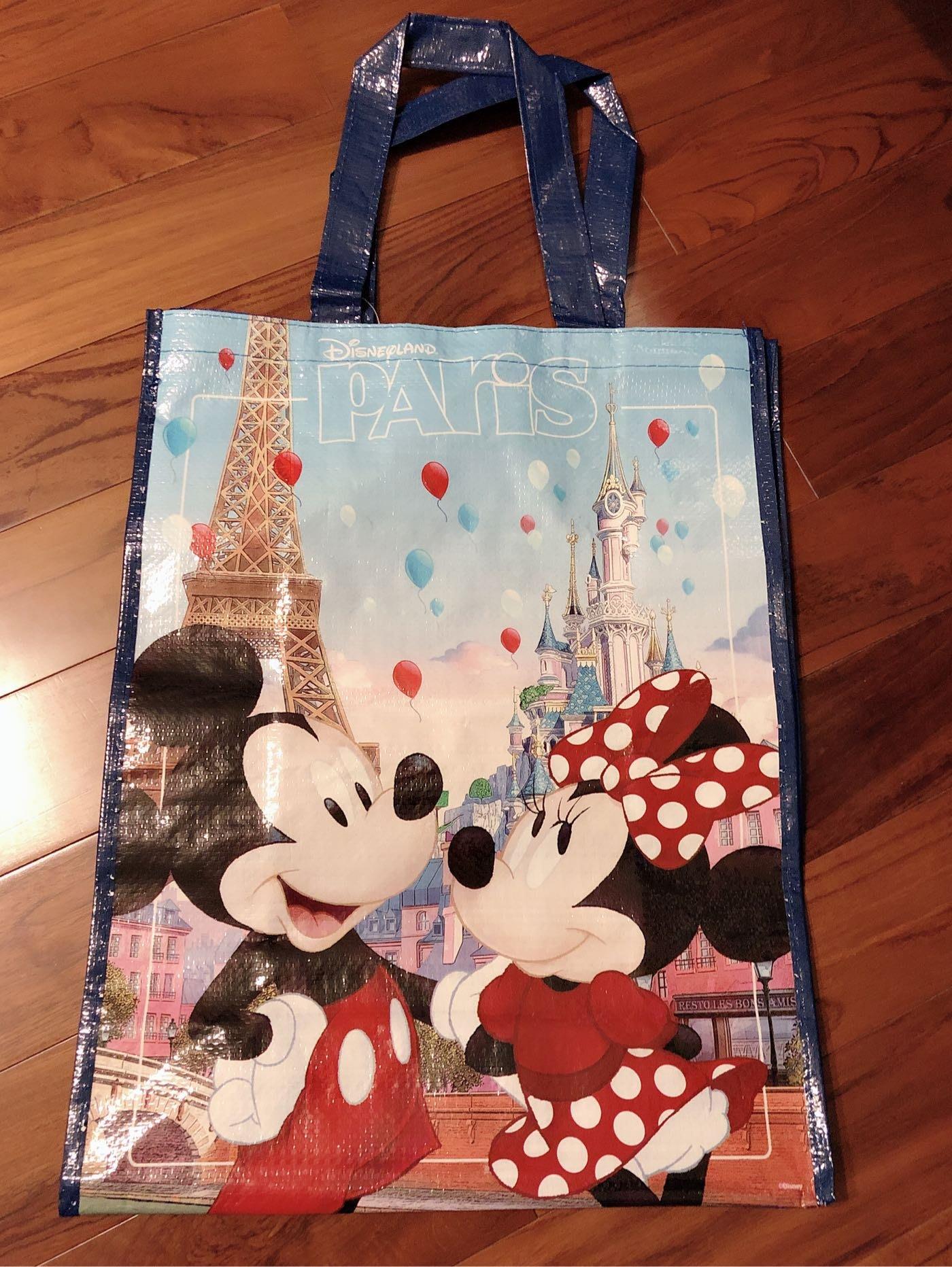 全新法國迪士尼限定購物袋