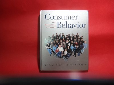 【愛悅二手書坊 11-18】Consumer Behavior and Marketing Strategy