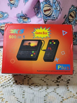 [K5 plus]掌上型Game Box 500 in1(可對打)