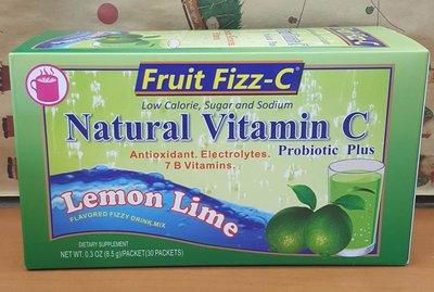Fruit Fizz-C天然泡泡C(檸檬)