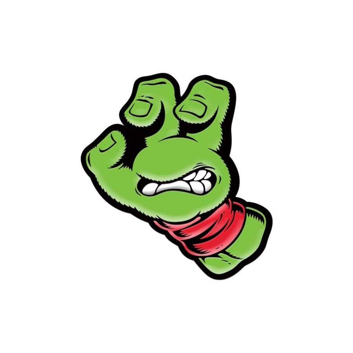 [CABAS滑板店] SANTA CRUZ TMNT URTLE HAND PIN | 忍者龜 聯名 別針