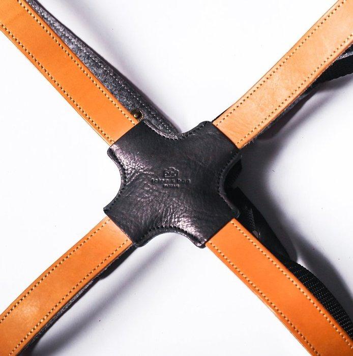 點子包 iclea X bag │皮革手工工作圍裙肩掛背帶 (含袋蓋)
