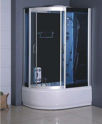 FUO衛浴: 整體式 強化玻璃 乾濕分離淋浴間 不含蒸汽功能 (A7012) 預訂中!