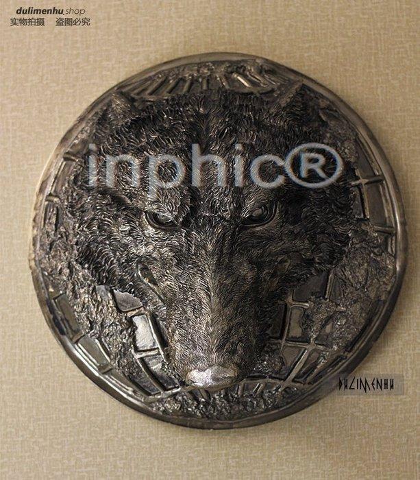 INPHIC-歐式動物牆式壁掛 狼頭個性創意家具擺飾 會所裝修前期購