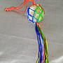 【發發開運坊】天然白水晶球一對+網袋/直徑3.4cm/化穿心煞.屋內樑柱.門對門/開光