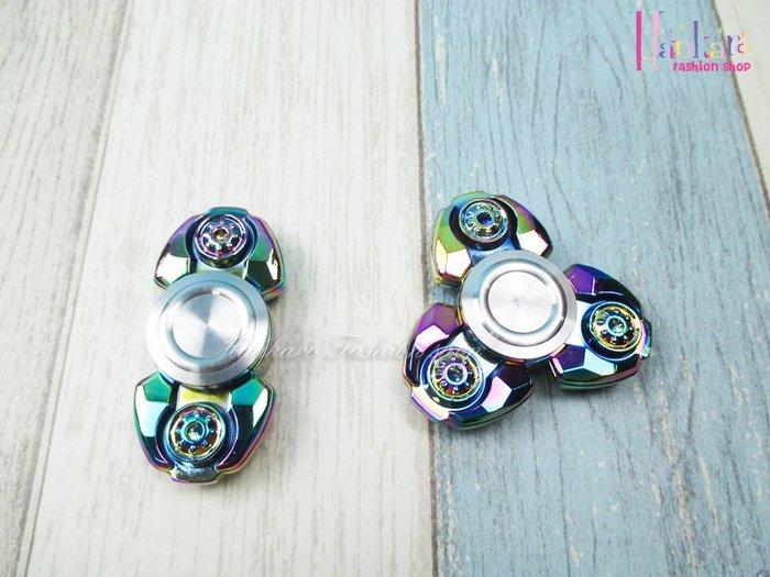 ☆[Hankaro]☆ 流行金屬電鍍幻彩造型指尖陀螺手指陀螺系列
