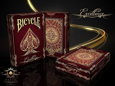 【USPCC撲克】Bicycle EXCELLENCE playing cards 撲克牌