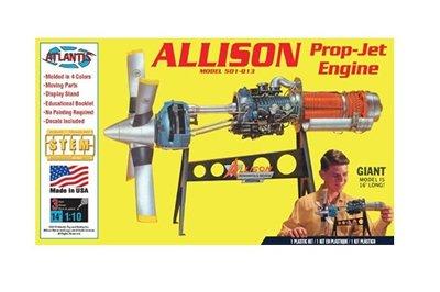 Allison Prop Jet Engine 艾利森 飛機 發動機 模型 1/10~請詢問庫存