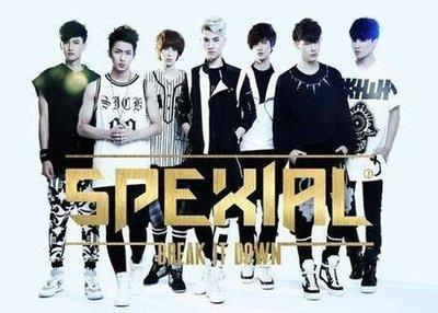 """[全新專輯] SpeXial-2014全新專輯""""Break it down"""" 專輯 黃偉晉"""