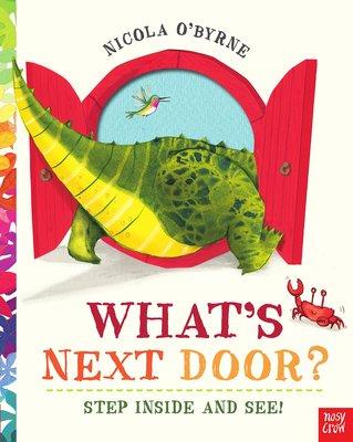 *小貝比的家*WHATS NEXT DOOR/平裝+QR code/3~6歲/想像力
