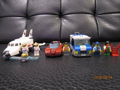 [買到賺到!]樂高LEGO CITY 太空船 運鈔車 超跑便宜買 限合購全組