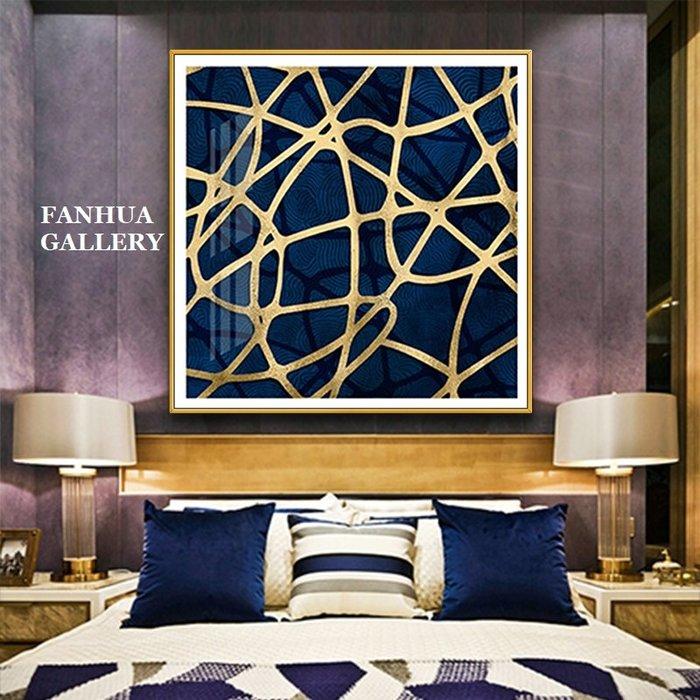 C - R - A - Z - Y - T - O - W - N 金箔抽象藤蔓樹枝裝飾畫客廳臥室走廊方形掛畫公司抽象畫裝飾畫現代藝術玄關大幅掛畫酒店高檔掛畫