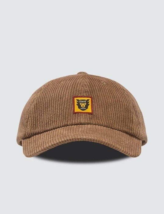全新商品 HUMAN MADE Corduroy Cap 布標 燈心絨 帽子
