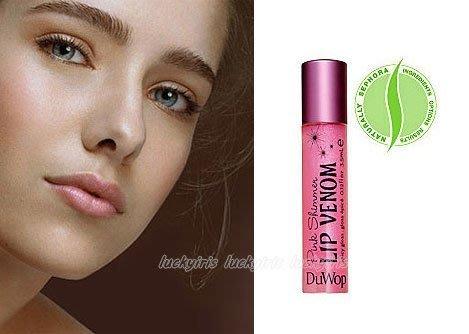 DuWop~Lip Venom 粉紅微光唇部修護豐唇毒液 可當唇蜜使用