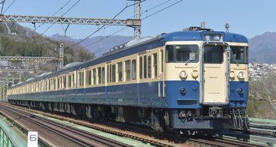 [玩具共和國] TOMIX HO-9076 JR 115-1000系近郊電車(横須賀色・C1編成)セット(6両)