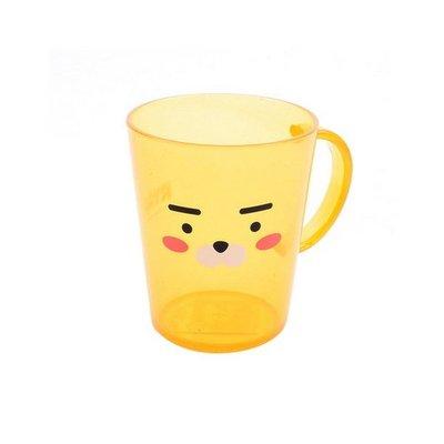 ♀高麗妹♀韓國 KAKAO FRIENDS 獅子RYAN 喝水杯/飲料杯/漱口杯 單耳環保杯(現貨)