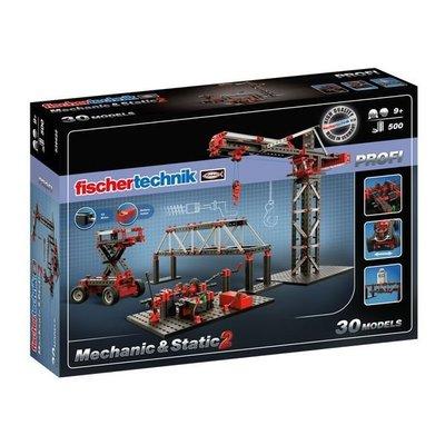 預購7月底到貨 慧魚 536622 Fischertechnik PROFI Mechanic & Static 2