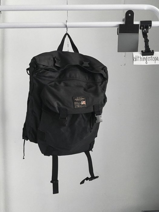 Denim&Supply Ralph Lauren POLO backpack 後背包 黑