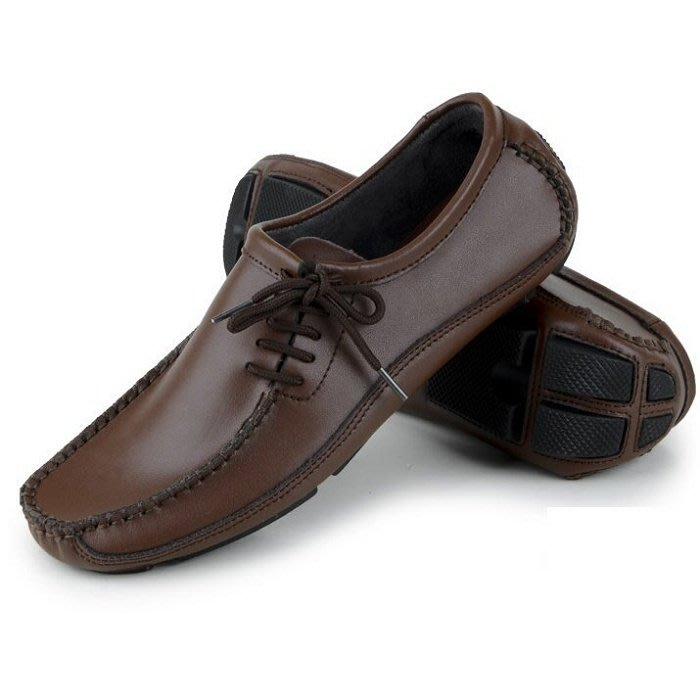 真皮皮鞋 休閒鞋(零碼賠售出清、恕不退換)-時尚流行商務純色男鞋子a9[獨家進口][米蘭精品]