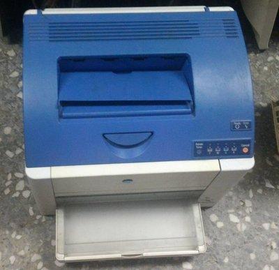 @淡水無國界@ 彩雷Konica  Minolta 2400W 彩色雷色 庫存 隨便出清亂賣 沒碳粉了 只有一台