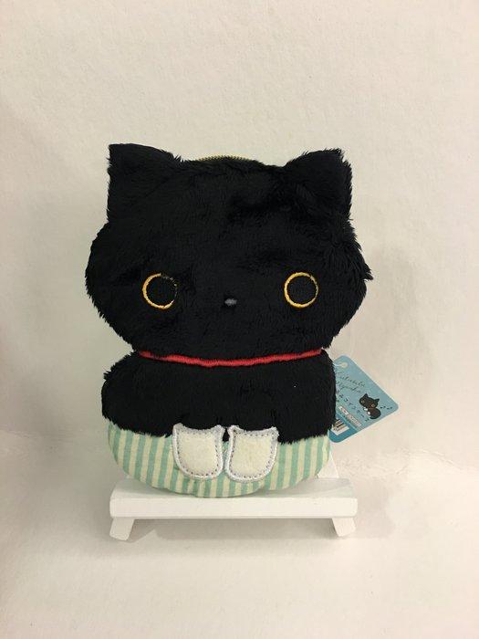 ^ 燕子部屋 ^ 襪子貓/ 靴下貓 絨毛 造型零錢包,收納包