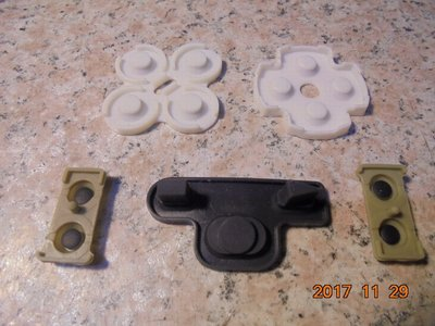 PS3導電膠/軟墊/按鍵膠墊/按鍵膠/導電橡膠 手把按鈕 原廠零件 直購價80元 桃園《蝦米小鋪》
