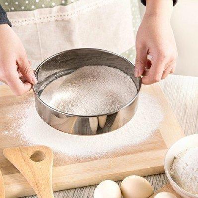 ☆╮布咕咕╭☆讓麵粉更細緻  60目手持式不鏽鋼麵粉篩