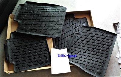 【歐德精品】現貨.原廠BENZ 2019 GLE W167 C167 原廠橡膠踏墊GLE300 GLE350 GLE45