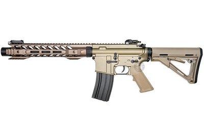 台南 武星級 BELL M4 12吋 電動槍 沙 ( BB槍BB彈M16玩具槍MP5狙擊槍UZI衝鋒槍M4卡賓槍AR步槍