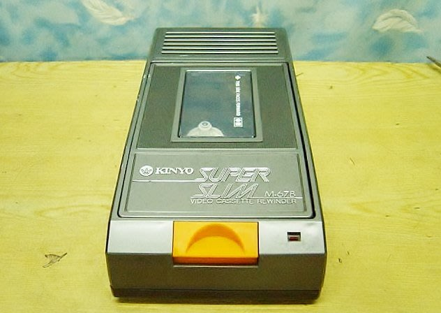 【小劉2手家電】KINYO BETA 迴帶機  / 倒帶機,運轉順暢,安靜,到底自動開匣