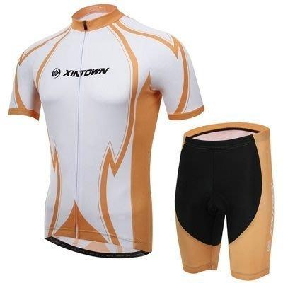 單車服 自行車衣 短袖套裝-舒適吸濕排汗透氣男運動用品73er34[獨家進口][米蘭精品]