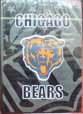 龍廬-出清撲克牌~美式橄欖球大聯盟CHICAGO BEARS芝加哥熊球隊