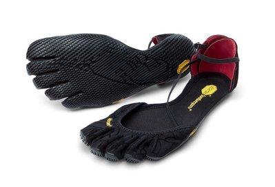 =CodE= VIBRAM FIVEFINGERS VI-S YOGA 多功能五趾鞋(黑) 赤足瑜珈 涼鞋 健身拳擊 女