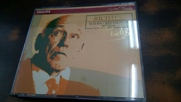 好音悅 半銀圈 Richter Haydn Weber Beethoven 2CD Philips 德PMDC01版
