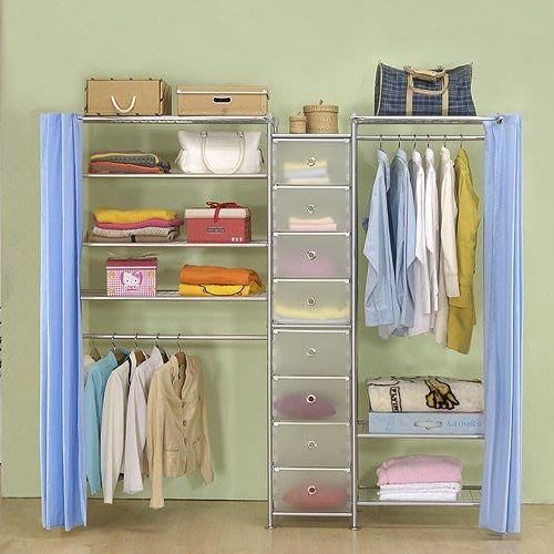【中華批發網DIY家具】D-62B-05-W3型60+pp+W4型90衣櫥置物櫃-(前罩)不織布