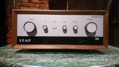 [ 沐耳 ] 英國精品 LEAK 最新綜合輸入擴大機 Stereo 130 特仕版:含唱放,藍芽,D/A,耳擴,前級