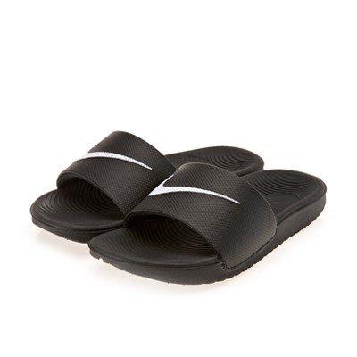 【Luxury】全新正品 NIKE 大LOGO 黑白2色 兒童拖鞋 大勾 運動拖鞋 男女童 防水拖鞋 大童鞋 韓國代購