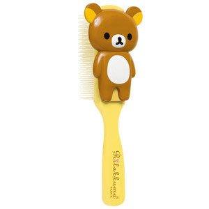 *凱西小舖*日本進口正版SAN-X_Rilakkuma 懶懶熊全身可愛造型梳子