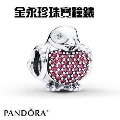 金永珍珠寶鐘錶*PANDORA 潘朵拉 原廠真品 2015最新秋季款 粉鑽和平鴿 勿下標*
