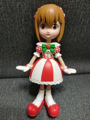 [絕版收藏]日本正版授權非賣景品,Love and Berry 偶像星願 (lovely strawberry)小型模型,早期絕版品