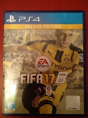 (90% New) PS4 FIFA 17 #deluxe edition