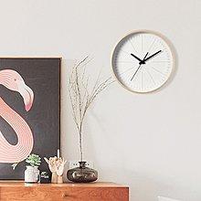 〖洋碼頭〗北歐客廳實木簡約現代時鐘掛表臥室創意石英鐘表個性靜音大掛鐘 ogh141